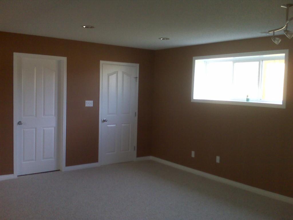 renovated basement suite