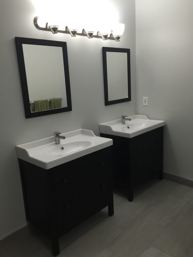 his and her sinks