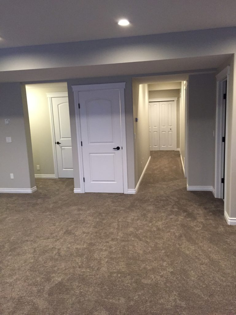 bedrooms in basement