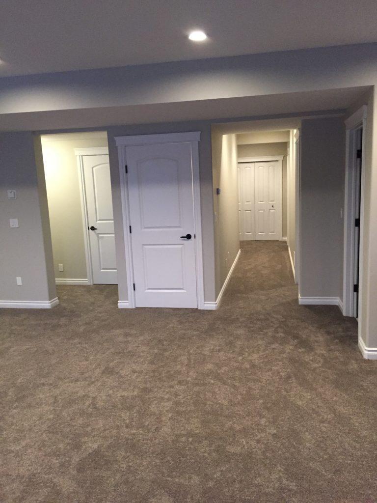 bedrooms in basement