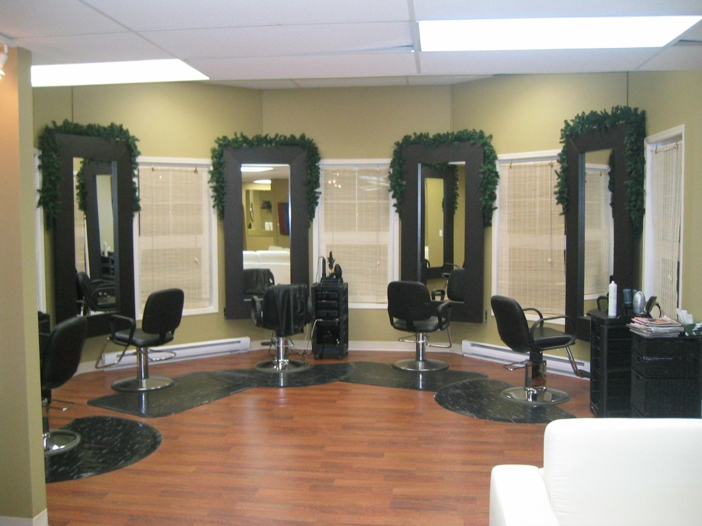 commercial renovations edmonton hair salon