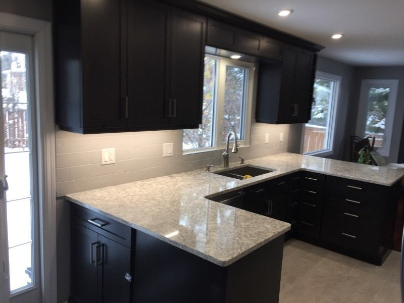 newly done kitchen renovations edmonton